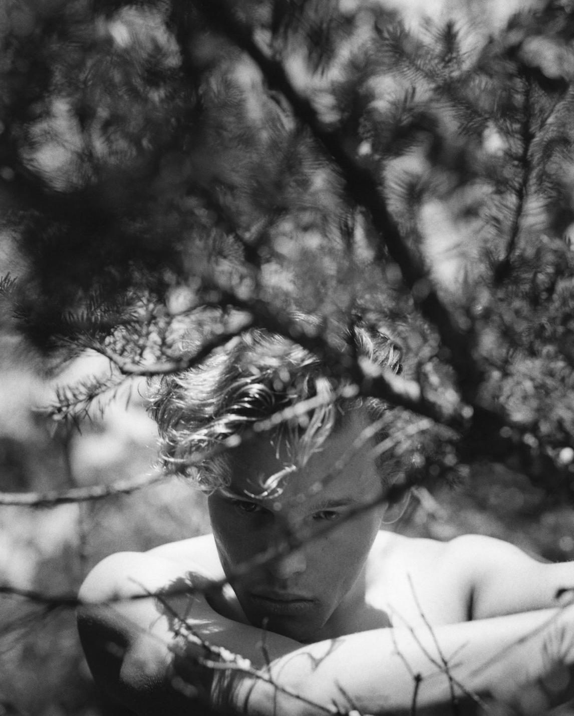 Bear Pond Bruce Weber - Inner Page -Model